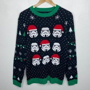 Star Wars Stormtroopers Ugly Christmas Sweater S